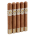 "5 Vegas Gold Anniversary Toro (6.0""x50) Pack of 5"