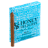 "Honey Delights Rum Cigarillo (Cigarillos) (5.0""x32) Pack of 20"