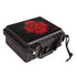 Gurkha 30-Count Travel Case Skull with Roses All Red  30-Capacity