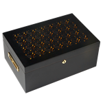 Gurkha Lugano Series - East India Desktop Humidor