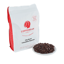 Coffee Bean Direct - City Roast Colombian Supremo