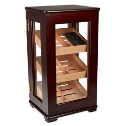 Desktop Vertical Display Humidor